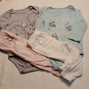 2 Disney Dumbo outfits